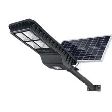 55W double Solar Panels 52000MAH Solar Street Light